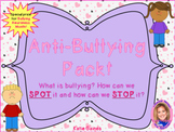 NEW Anti-Bullying Activity Pack: How to SPOT and STOP Bullying!