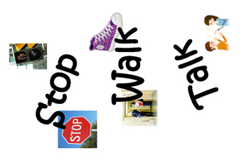 Anti-Bullying Stop-Walk-Talk Poster