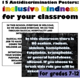 Anti-Discrimination Law Inspired Signs #kindnessnation #we