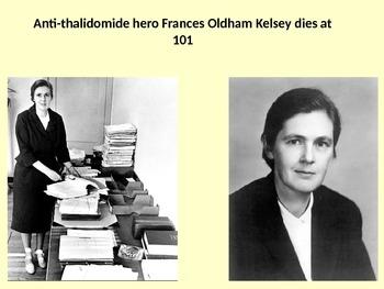 Anti-thalidomide hero Frances Oldham Kelsey dies at 101