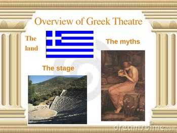 Antigone Background PowerPoint *To Accompany Notes and Stu