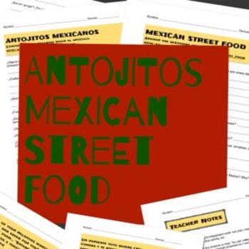 Antojitos Mexicanos Sub / Homework Lesson