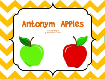 Antonym Apples: A Common Core Aligned Activity