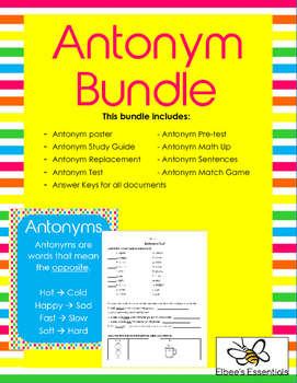 Antonym Bundle