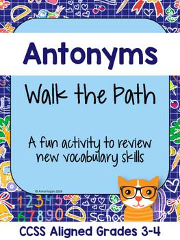 Antonym Activity