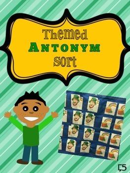 Themed Antonym Sort
