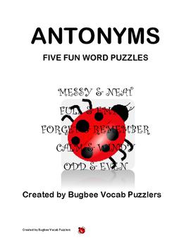 Antonym Word Puzzles