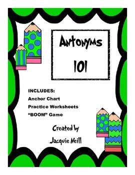 Antonyms 101