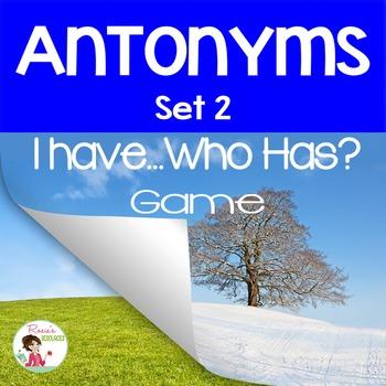 Antonyms Set 2