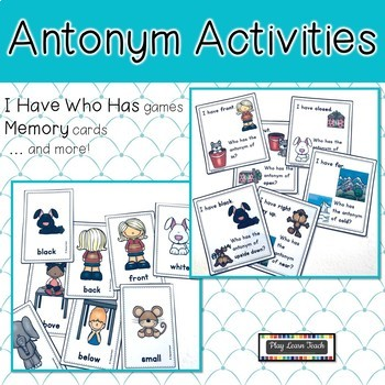 Antonyms I Have Who Has