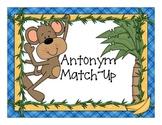 Antonyms - Match-Ups with Monkeys