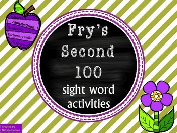 Antonyms, Syllables, ABC order, Guide words, & Sentences f