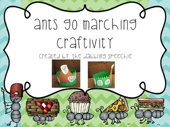Ants Go Marching Craftivity!