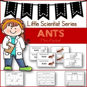 Ants (Emergent reader/graphic organizers)