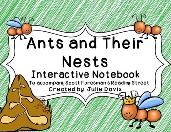Ants and Their Nests Interactive Notebook Journal