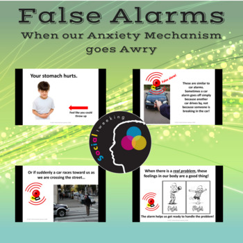 Anxiety and false alarms; Teaching children about anxiety