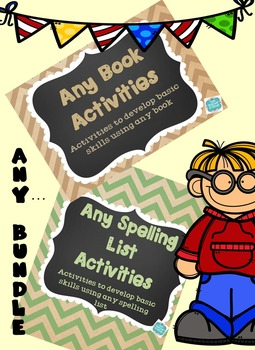 Any Book/Any Spelling List Activities