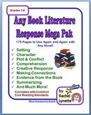 Any Book Literature Mega Pack - Ready to Use, Over 175 Pages!