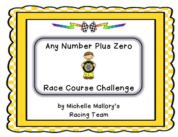Any Number Plus Zero Race Course Challenge (Mystery Number