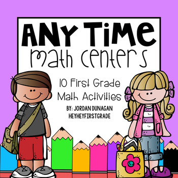 Any Season Math Centers