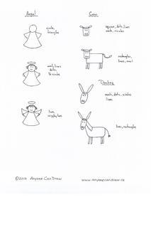 Anyone Can Draw Christmas Nativity