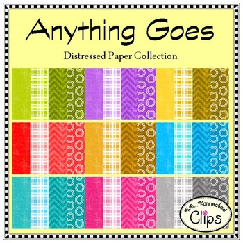 Anything Goes - Distressed Paper Collection
