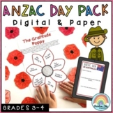Anzac Day Pack - Years 3 - 6