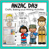 Anzac Day Writing and Craft Activities