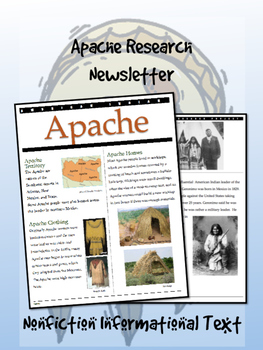 Apache American Indian/Native American Research Newsletter!