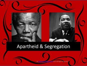Apartheid and Segregation