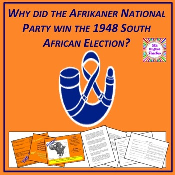 Apartheid in South Africa - why did the National Party win