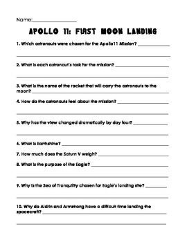 Apollo 11: First Moon Landing by Michael D. Cole Comprehen