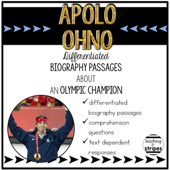Apolo Ohno: Differentiated Biography Passages & Reading Co