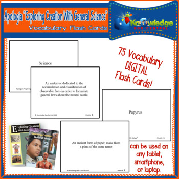 Apologia Exploring Creat. W/ General Science Vocabulary Wo