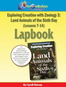 Apologia Exploring Creation w/ Zoology 3: Land Animals Day