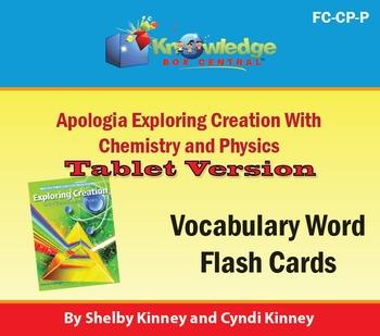 Apologia Exploring Creation w/Chemistry & Physics Vocabula