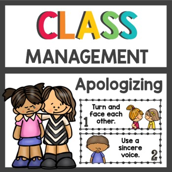 Apology Posters