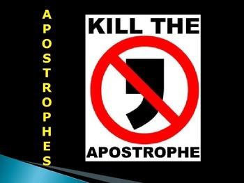 Apostophes Fun Revision