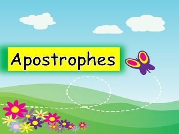 Apostrophes - Possession and Contractions