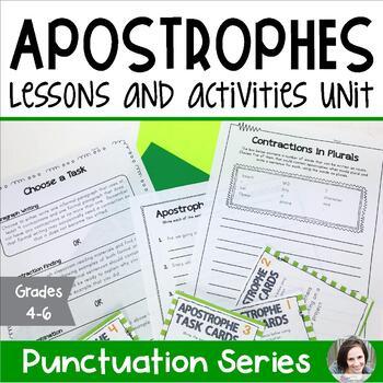 Apostrophes - Punctuation Series