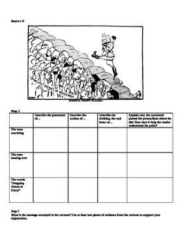 Appeasement- Cartoon Common Core Analysis