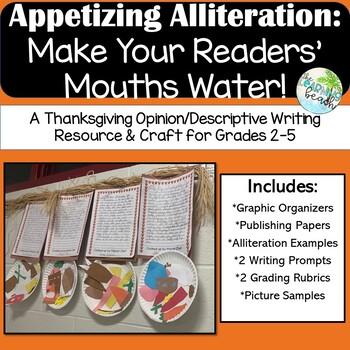 Appetizing Alliteration: Tasty Thanksgiving Menus Writing