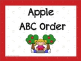 Apple ABC Order for Interactive Whiteboard