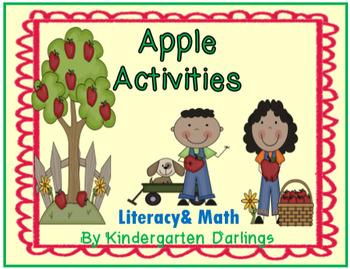 Apple Activities: Literacy & Math