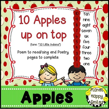 Apple Activity ~ 10 Apples Up on Top