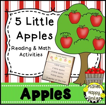 Apple Activity ~ 5 Little Apples
