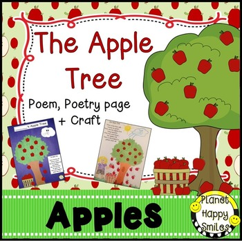 Apple Activity ~ The Apple Tree poem and craft