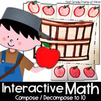 Johnny Appleseed Apples Ways to Make Ten Addition Interact