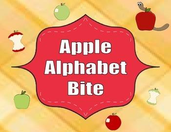 Apple Alphabet Bite Game