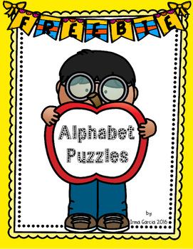 Apple Alphabet Puzzles  - Fall Freebie